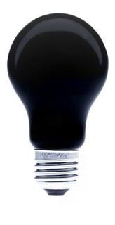 Foco A19 Con Filtro Luz Negra E26 75w Incandecente Lummi