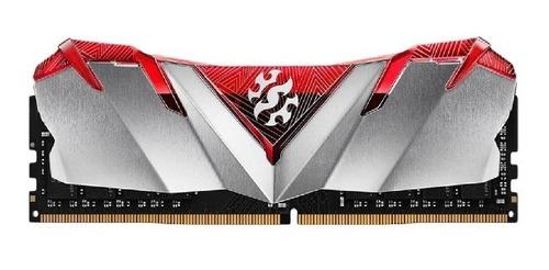 Imagem 1 de 2 de Memoria Pc Ddr4 16gb 3000 Gammix D30 Red Xpg Adata - 3120