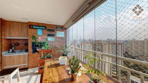 Apartamento Para Compra Com 2 Quartos E 2 Vagas Localizado Na Aclimação - Ap53518