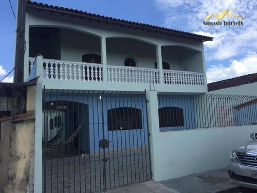Casa Com 5 Dormitórios À Venda, 480 M² Por R$ 400.000,00 - Jardim Suarão - Interior - Itanhaém/sp - Ca0074