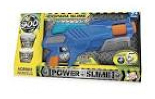 Imagem 1 de 2 de Pistola Power Slime Azul