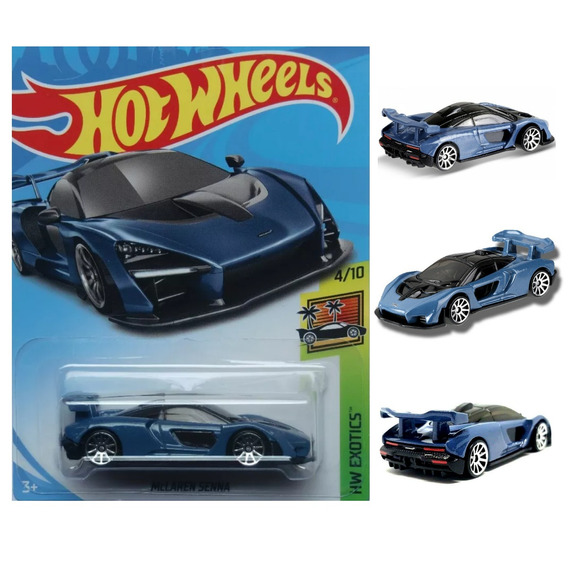 Hot Wheels Mclaren Senna Forza Horizon 4 Hw Exotics 2019