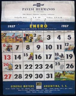 Calendario Del Ano 1957.Calendario 1957 En Mercado Libre Argentina