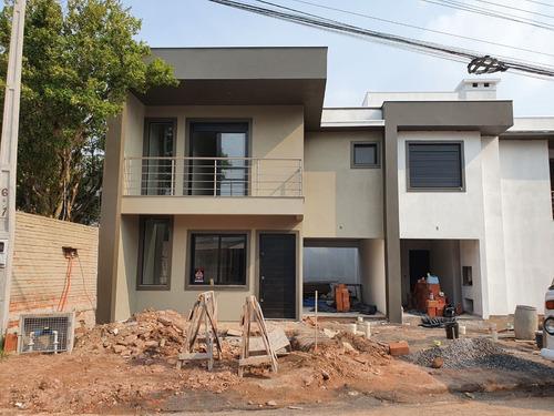 Imagem 1 de 4 de Casa Com 3 Dormitórios À Venda, 115 M² Por R$ 480.000,00 - Boa Vista - Novo Hamburgo/rs - Ca3136