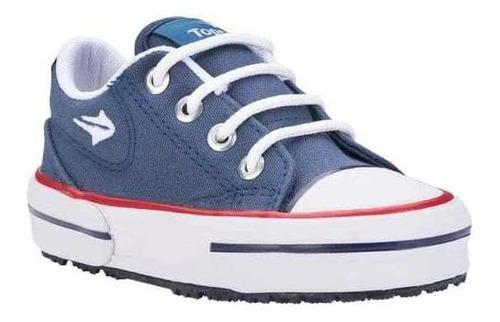 Zapatillas Topper Nova Low Kids Azul Oferta!