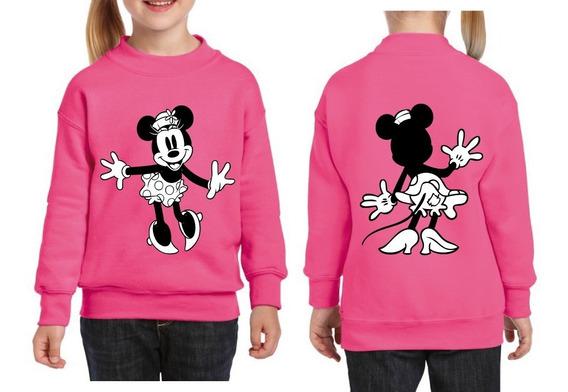 Buso Basico Algodon Estampado Personalizado Minnie Mouse