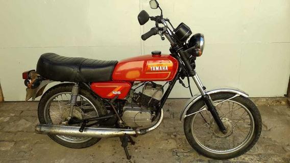 Yamaha Rx 125 1982/83.