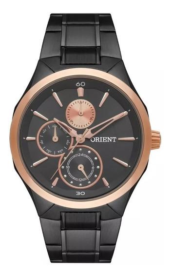 Relógio Orient Feminino Multifunção Ftssm044 G1px Grafite