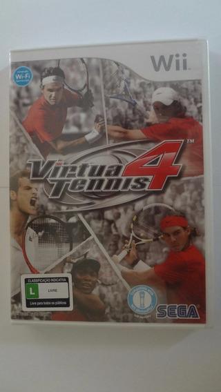 Virtua Tennis 4 Wii Mídia Física - Novo E Lacrado