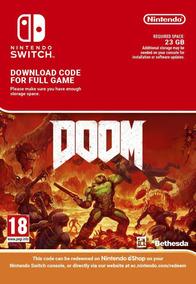Doom - Nintendo Switch Código 16 Digitos Eshop