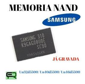 Memória Nand Samsung Gravada Un 32d5500 40d5500 46d5500