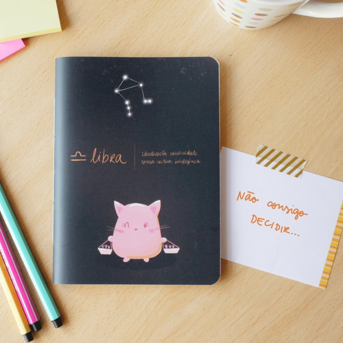 Caderninho Signos - Libra