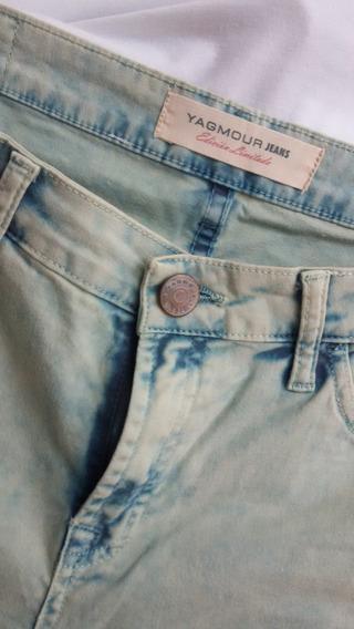Jeans Yamour Mujer Semielastizado