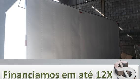 Baú Alumínio 5,50 Mts Piso Chapeado P/ Caminhão 3/4
