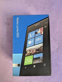 Celular Nokia Lumia 800 - Para Colecionador