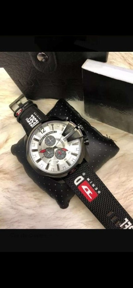 Relógio Diesel Dz4512, Strap 100 Mts