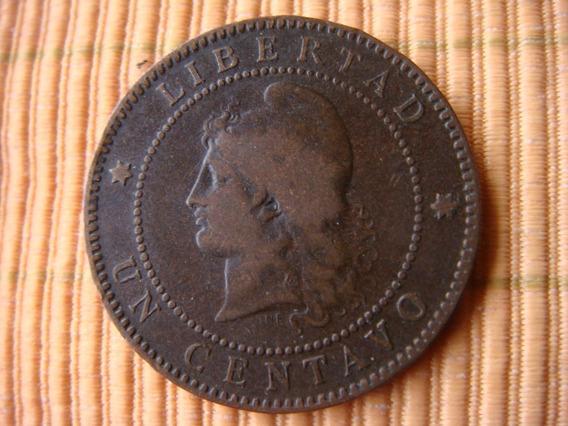 Argentina - 1 Ctvo De Patacon 1885 - Fecha Normal -