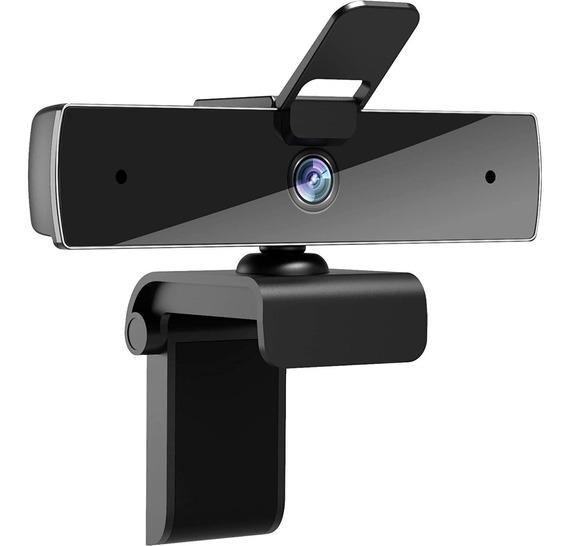 Cámara Web Con Micrófono 1080p Hd Para Pc 30fps 360° Usb