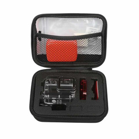 Kit Case Shoot Gopro 5 E 6,caixa Estanque,bóia,sílica,filtro