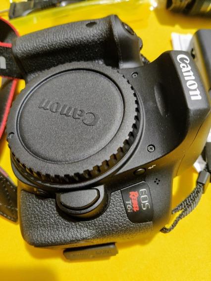 Câmera Canon T6i . Ñ É T3i T4i T5iLeia A Descrição