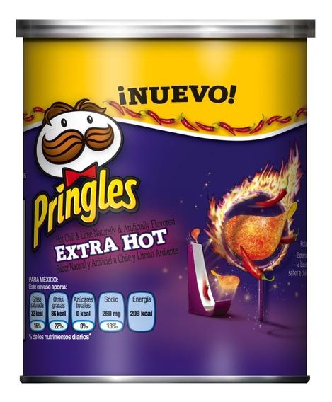 Pringles Xtra Hot 40 Grs.
