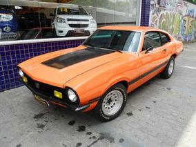 Ford Maverick 6cc 1974 Laranja 89000 Km Persolizado