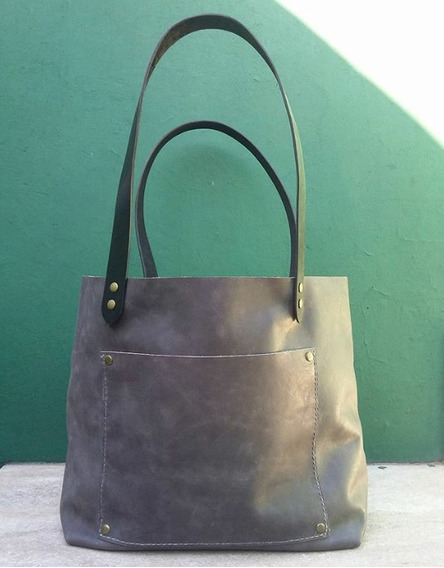 Cartera - Tote Bag - Bolso De Cuero - Envío Incluído