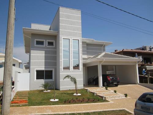 Casa Com 3 Dormitórios À Venda, 380 M² Por R$ 1.750.000,00 - Condomínio Metropolitan Park - Paulínia/sp - Ca0023