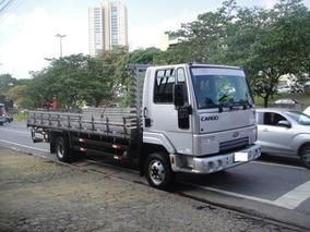 Ford Cargo 815 2012 Carroc. 6,30 M U. Dono Nf E Chave Reserv