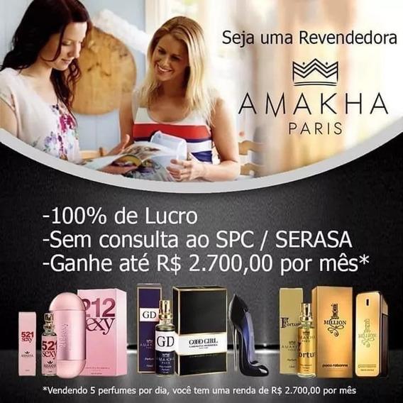 20 Perfumes P/revenda Amakha Paris Original Só Hoje