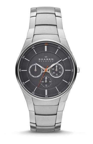 Reloj Skagen Hombre Plateado Skw6054
