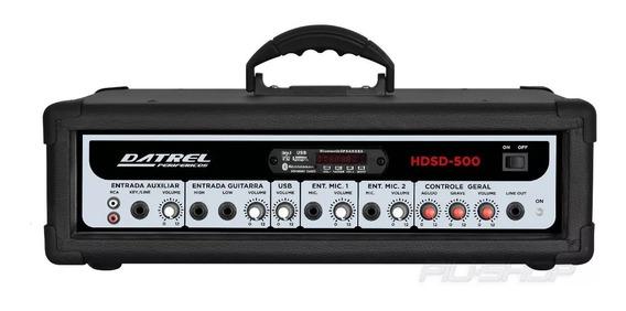 Cabeçote Multiuso Amplificador 300 Watts Usb/sd/fm Bluetooth