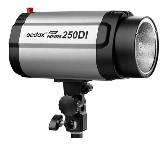 Flash Tocha 250w P/ Estúdio Fotográfico Godox 250di - 110v