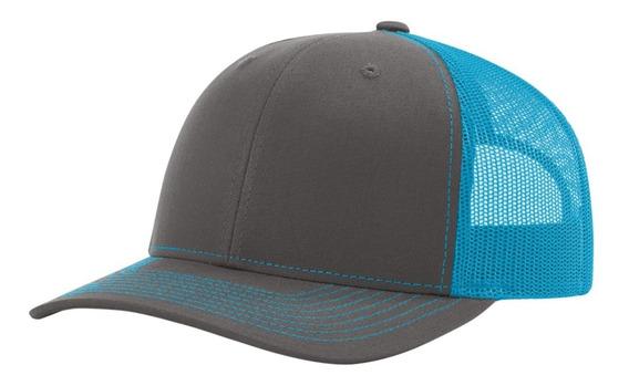 Gorra Richardson Azul Neon