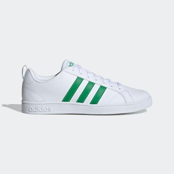 Tenis adidas Vs Advantage Blanco Verde Caballero D97609