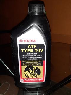 Aceite Toyota Atf Type T-iv Caja Automáticas Por Litro