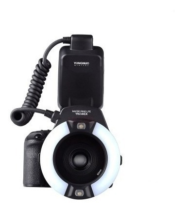 Flash Macro Circular Yongnuo Ring Lite Yn-14ex Para Canon