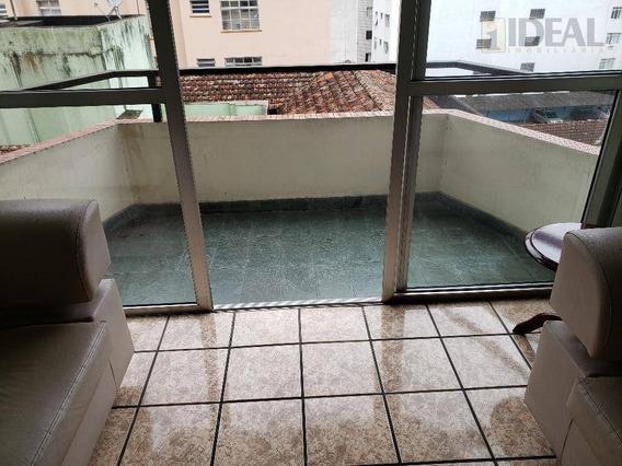 Apartamento Residencial Para Locação, Centro, São Vicente. - Ap0838