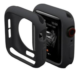 Capa Case Silicone Para Apple Watch Cores 38 /42 Mm