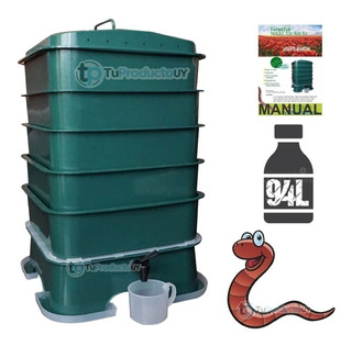 Compostera Lombriz Compost 5 Bandejas Organico
