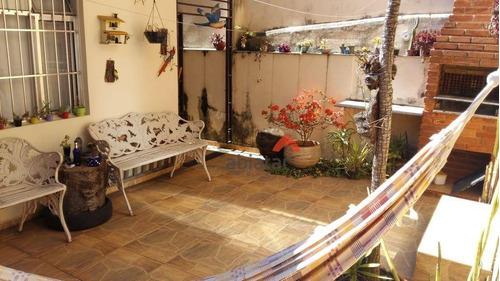 Casa Com 3 Dormitórios À Venda, 90 M² Por R$ 547.000,00 - Jardim Londrina - São Paulo/sp - Ca0159