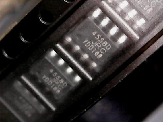 Kit 4 Ci 4558 4558d Jrc4558 Jrc4558d Rc4558 Smd Original