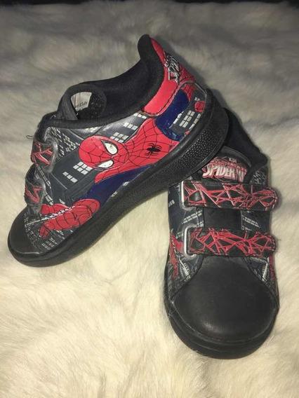 Zapatillas Marvel Spiderman 24 Con Caja