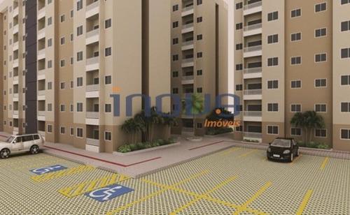 Imagem 1 de 12 de Apartamento Com 2 Dormitórios À Venda, 48 M² Por R$ 175.000,00 - Parque Tabapua - Caucaia/ce - Ap0413