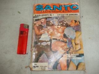 El Santo, El Enmascarado De Plata. Album Gigante