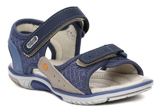 Sandália Kidy Baby Equilíbrio 0010758 Infantil - Azul