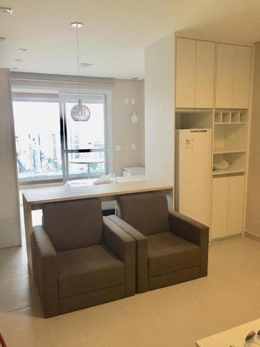 Apartamento Com 1 Dormitório À Venda, 40 M² Por R$ 435.000,00 - Tatuapé - São Paulo/sp - Ap6280