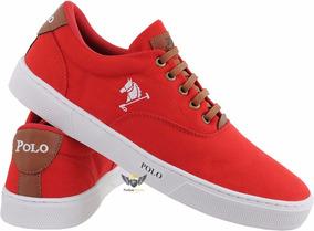 f40b23ff52 Sapatenis Sapato Tenis Polo Bra Casual Masculino