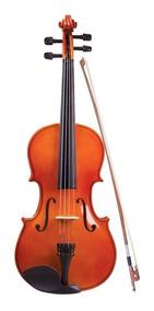 Viola De Arco 3/4 Concert Vc-34 - Natural C/case