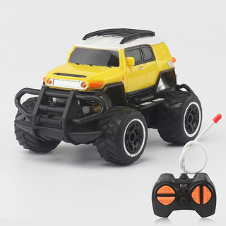 1:43 Mini Rc Todoterreno 4 Canales Vehiculo Modelo Amarillo